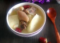 淮山药炖羊肉汤