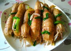 白灼濑尿虾