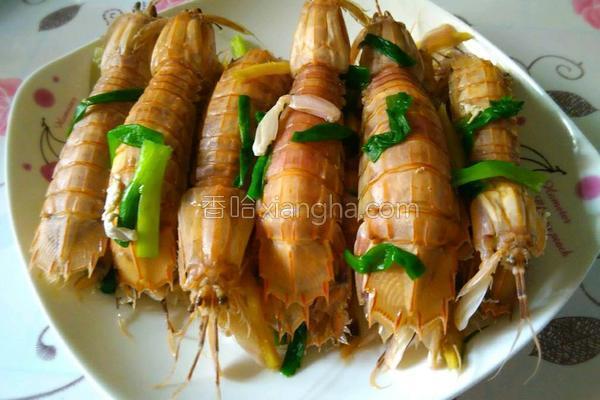 白灼濑尿虾的做法