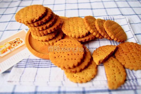 红糖全麦饼干