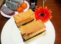 戚风蓝莓蛋糕