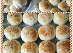 蜜豆香酥饼