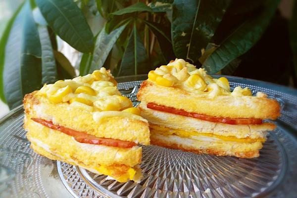 玉米三明治