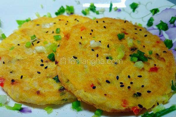 香煎蛋米饼
