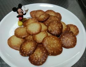 杏仁芝麻小饼