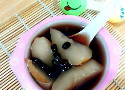 黑豆雪梨冰糖水