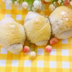 红豆面包卷