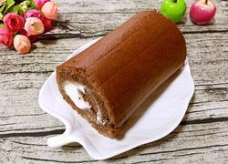 可可奶油蛋糕卷