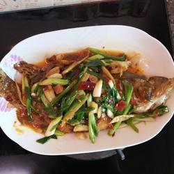 红烧桂花鱼