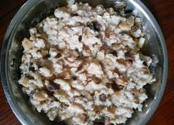马蹄香菇蒸肉饼