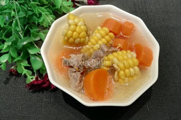 玉米胡萝卜汤