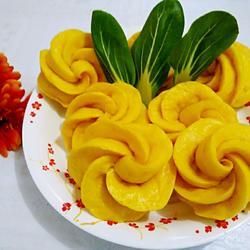 南瓜玫瑰卷