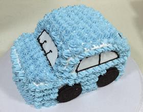汽車奶油蛋糕[圖]