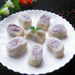 红豆沙椰蓉糯