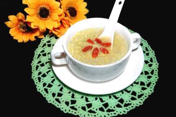 枸杞绿豆汤