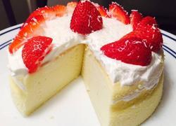 椰香轻芝士(乳酪)蛋糕