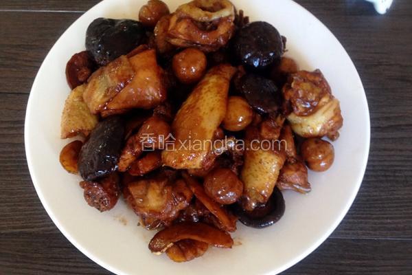 板栗香菇烧鸡