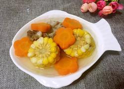 排骨玉米胡萝卜汤