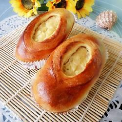 苹果乳酪奶油面包