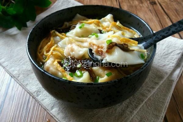 上海鲜虾小馄饨