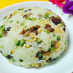 豌豆腊味糯米饭