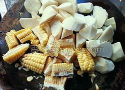 玉米番薯粥的做法图解2