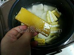 玉米番薯粥的做法图解4