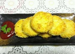 香酥土豆鸡肉饼
