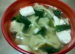 菠菜豆腐蝴蝶面