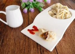 榛蘑猪肉馅饺子