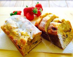 蜂蜜香蕉磅蛋糕[图]