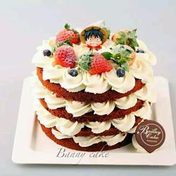 海贼王裸蛋糕