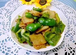 青椒炒土豆片