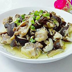 冬菇蒸鸡(蒸蒸日上)