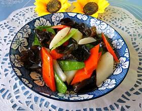 清炒养生菜