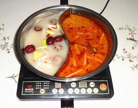 鸳鸯火锅汤底[图]