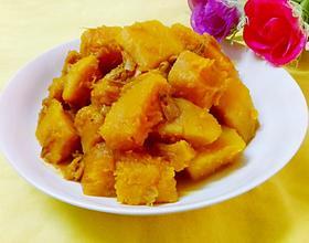 虾米焖南瓜