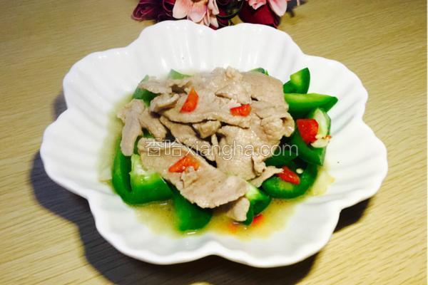 沙茶牛肉爆青椒