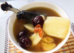 乌鸡淮山牛蒡汤