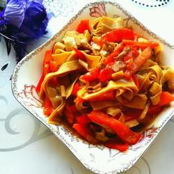红椒干豆腐