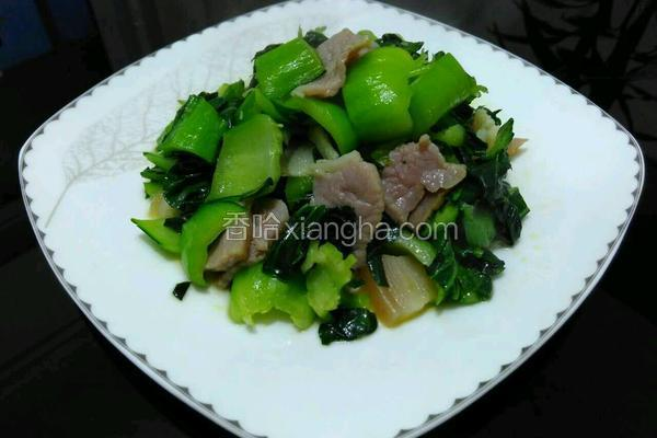 青菜炒咸肉