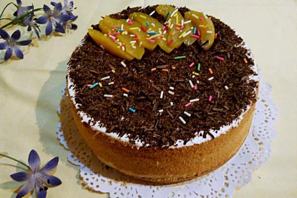 巧克力碎奶油蛋糕