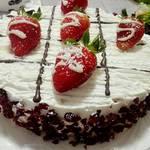 草莓奶油蛋糕的做法[图]