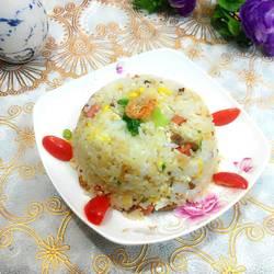 萝卜干炒饭(菜脯炒饭)