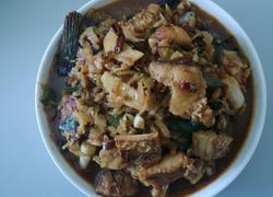 酸菜炒腊鱼
