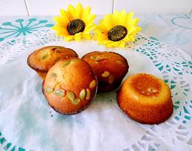 南瓜籽蜂蜜小蛋糕[图]