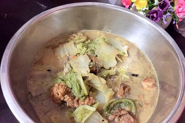 白菜炖酥肉
