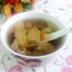 花旗参鹿茸炖瘦肉汤