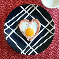 元气爱心煎蛋