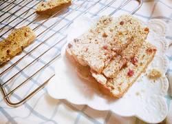 红茶蔓越莓比滋可巧蛋糕